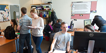 Students at the University of Strathclyde Law Clinic