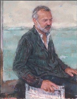 image of painting of Graham Norton