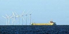 An offshore wind energy farm