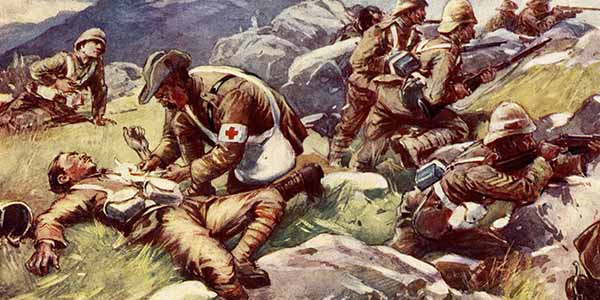 Boer War - Non Combatant Hero South African Battlefield