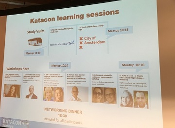 A PowerPoint slide from the Katacon seminar