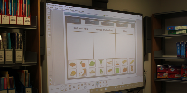 Smartboard in Education Resources Centre