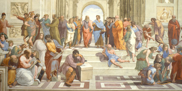 Raphael's The School of Athens painting