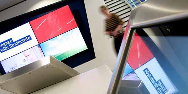 Engage with Strathclyde TIC TV Screen