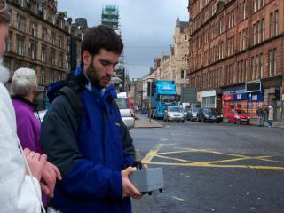 Traffic survey Glasgow