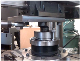 Biaxial shear tests on natural high-damping rubber bearings.