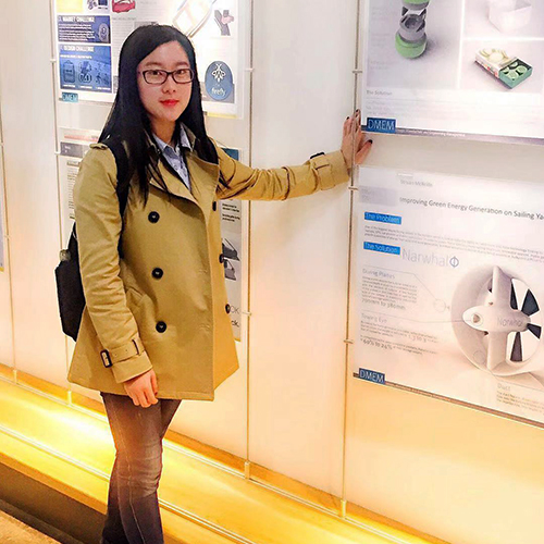Yana Li, student in the Department of Design, Manufacture & Engineering Management