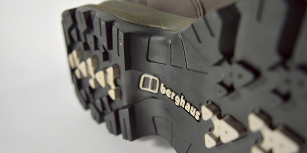 Sole of a Berghaus walking boot