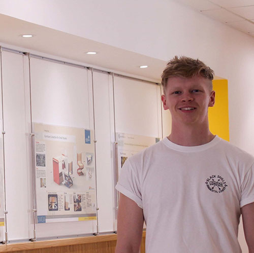 Peter Stewart, Design, Manufacture & Engineering Management student