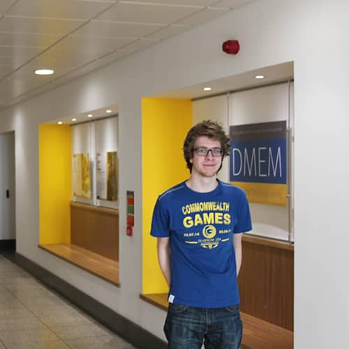 Ross Brisco, Design, Manufacture & Engineering Management student