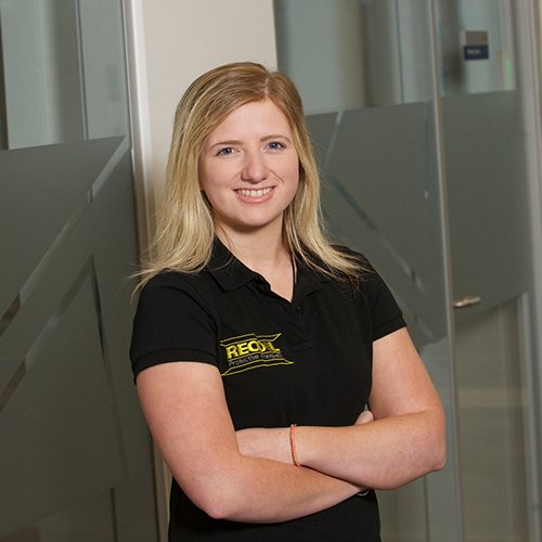Victoria Hamilton, graduate from Department of Design, Manufacture & Engineering Management