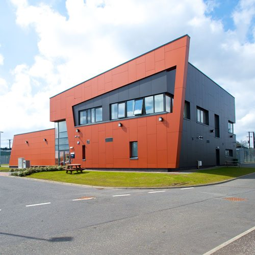 an external view of the power network distribution centre