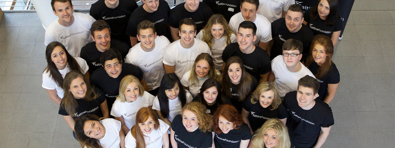 Saltire Foundation Undergraduate Internship Programme students
