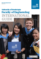 Front cover of the Faculty of Engineering International Guide