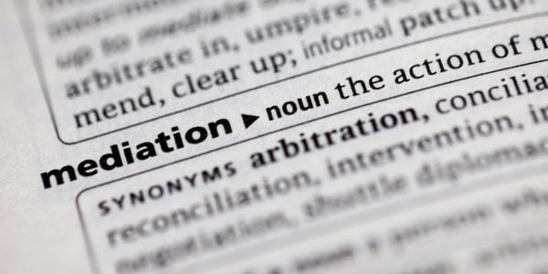 Mediation dictionary entry