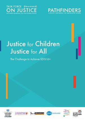 Justice for Children paper front cover