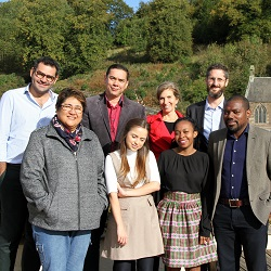 Students from the LLM Climate Change Law and Policy