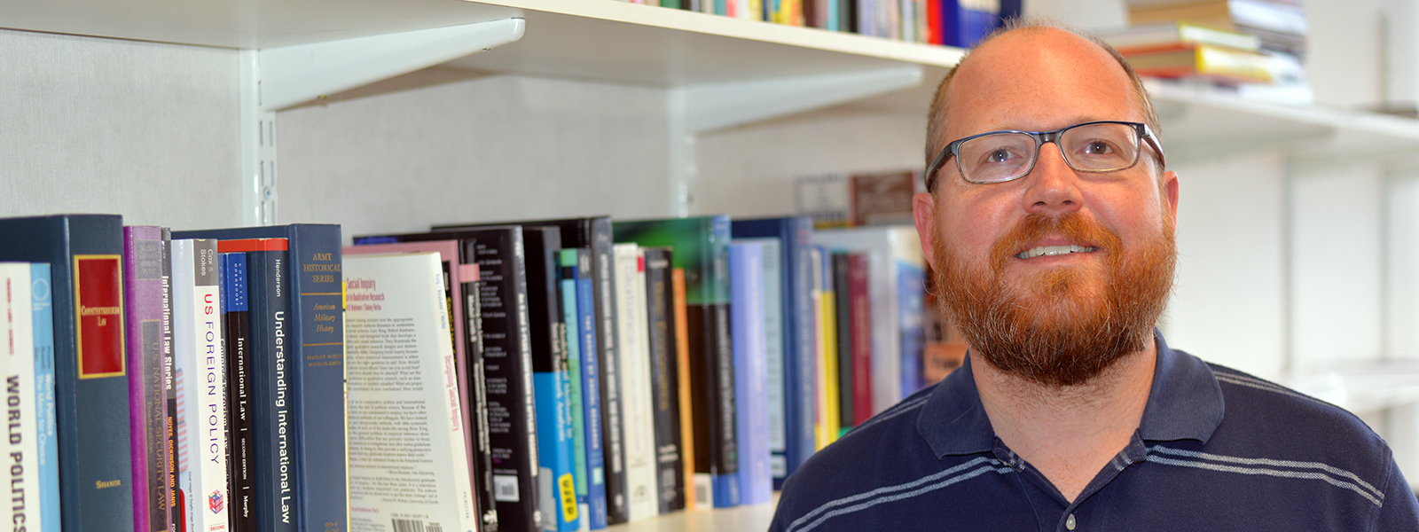 Richard Johnson, politics lecturer