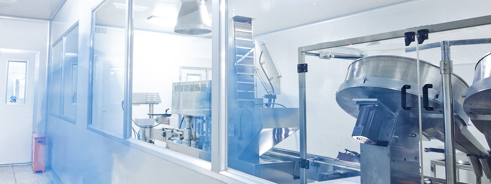 Clean room in a pharmaceutical factory