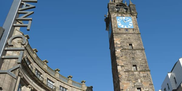 Merchant City tolbooth steeple
