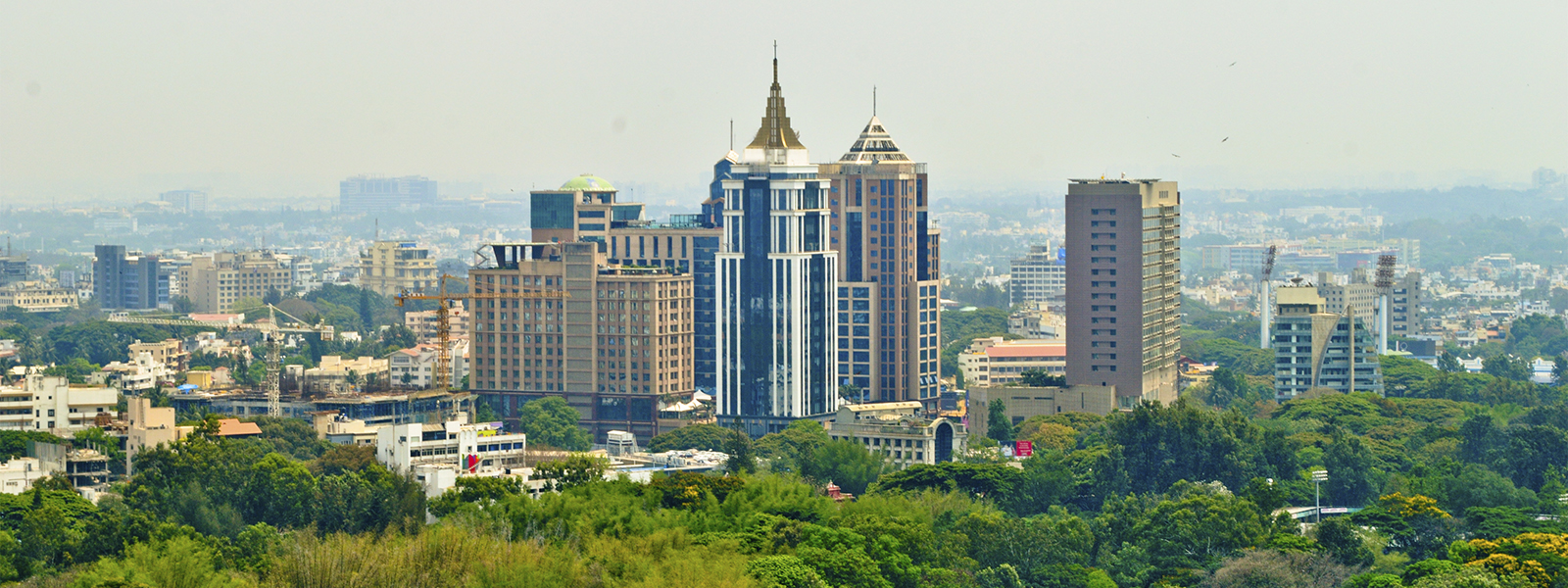 Skyline of Bangalore, India