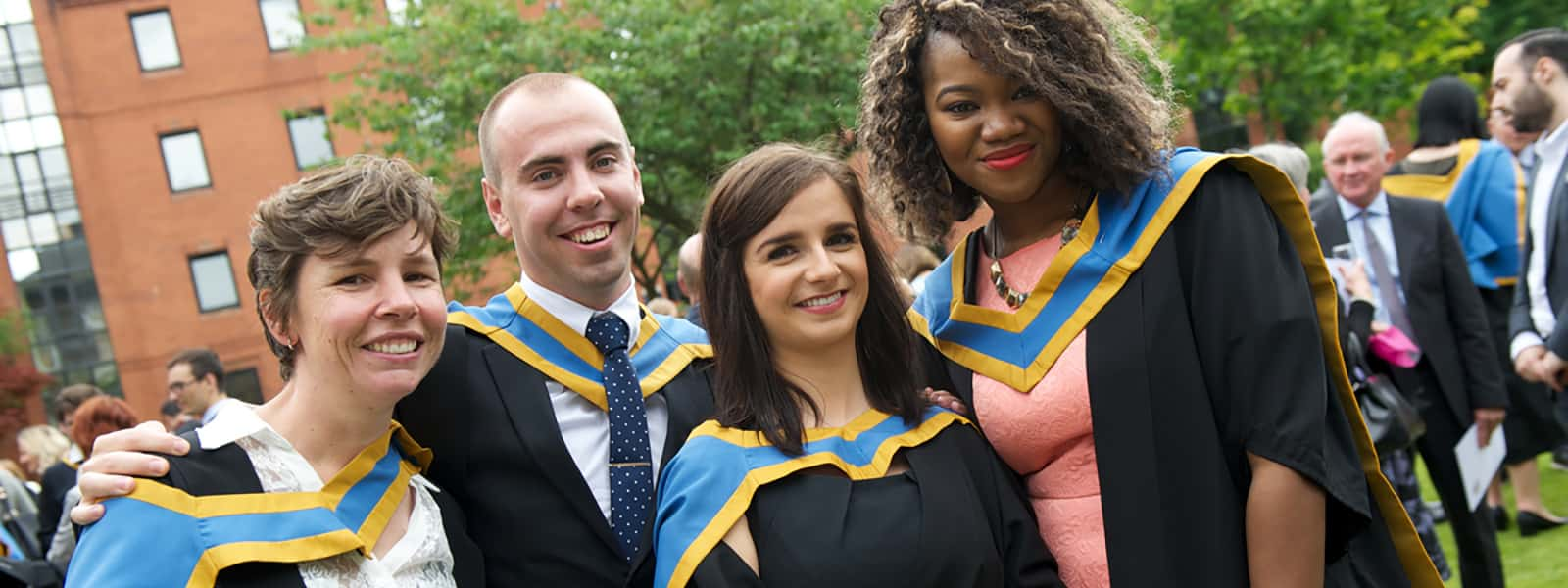 Strathclyde graduates at graduation ceremony