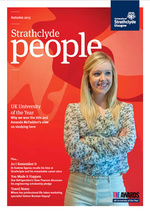 Strathclyde People Front Cover - 2013