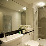 Ensuite bathroom, Ross Priory