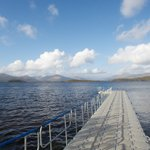 Ross Priory pontoon providing direct access to Loch Lomond