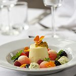 Vanilla Panna Cotta with Summer Fruits