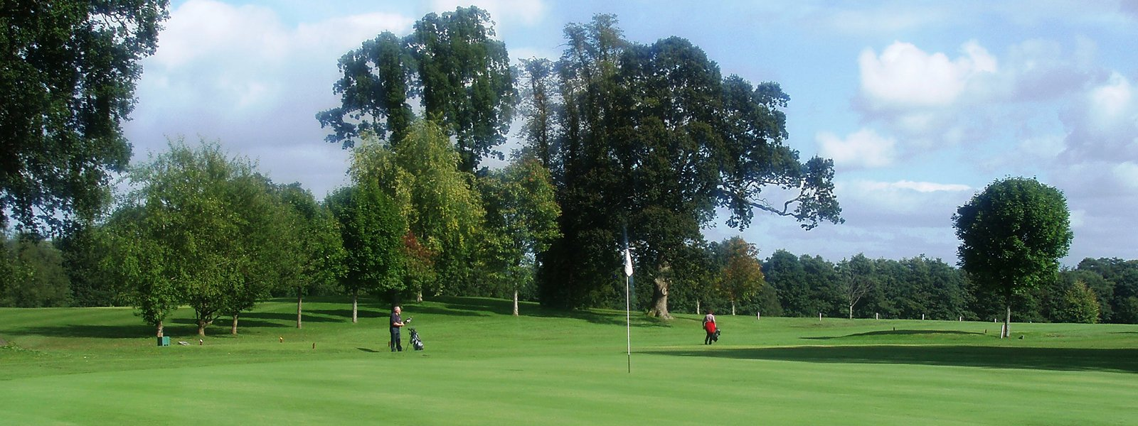 Golf course at Ross Priory