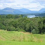Ross Priory Golf Course, with views of Loch Lomond. Photograph courtesy of R Cook, Club Member.