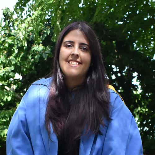 Dr Alexandra Costa, PhD alumna in Chemical & Process Engineering