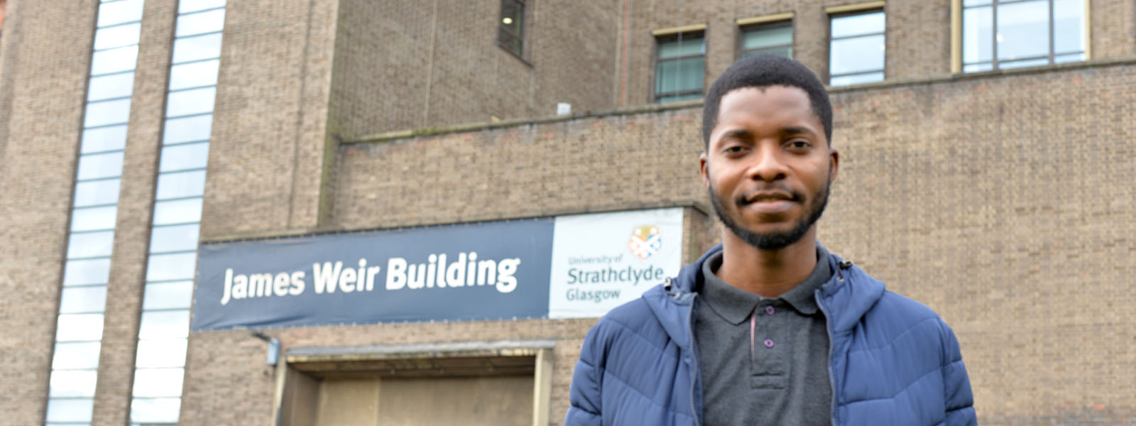 Ramsay Meiklem, graduate from Strathclyde Science Faculty