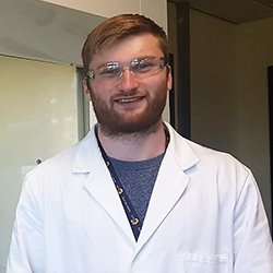 Liam McLean, Pure & Applied Chemistry PhD student
