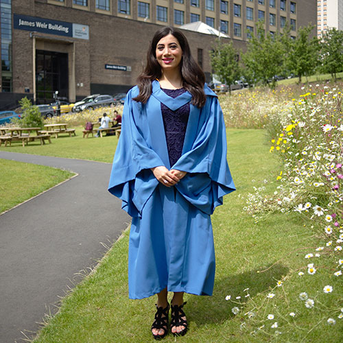 Maryam Derkani, Chemical & Process Engineering PhD graduate, Rottenrow Gardens