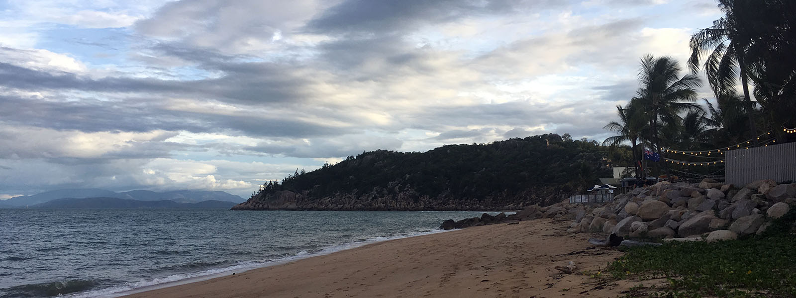 Beach view in Magnetic Island, Queensland, Australia