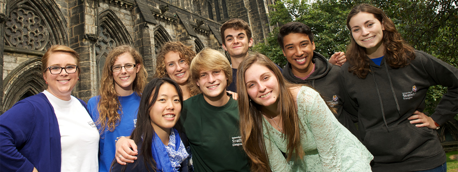 Fulbright scholars at Glasgow Cathedral