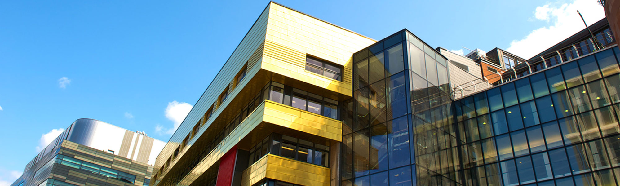 An external view of the new Strathclyde Business School building