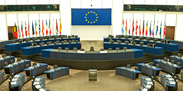 European Parliament Plenary Room