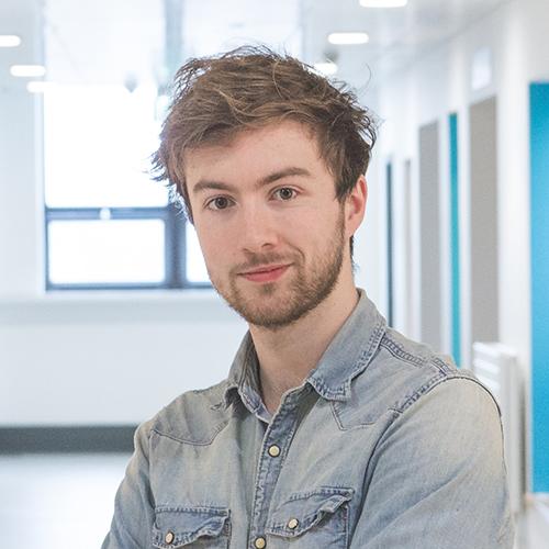 Chris McTeague, Design, manufacture & engineering management PhD student.