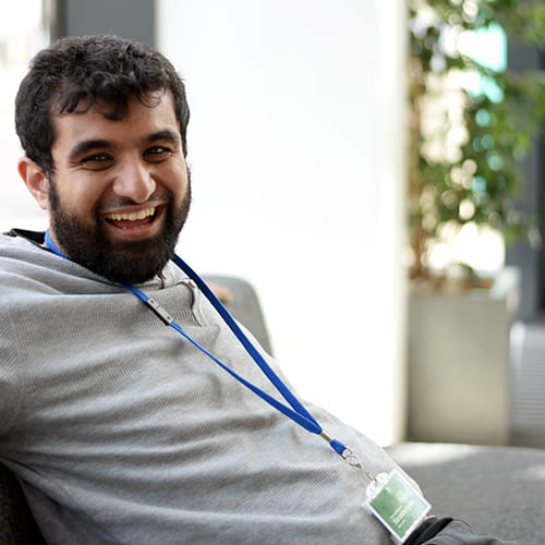 Adil Abbasi, postgraduate research student at the Strathclyde Institute of Pharmacy and Biomedical Sciences