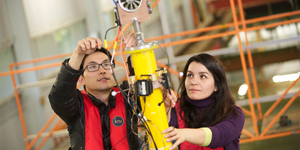 Naval Architecture, Ocean & Marine Engineering research assistants