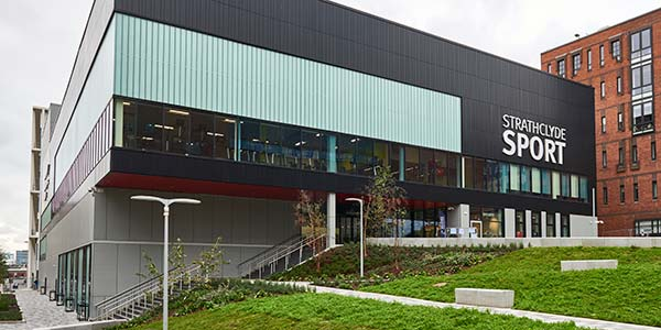 Strathclyde Sport £31m facility, opened in 2018