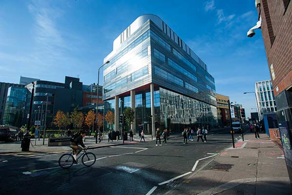 Exterior of Strathclyde Institute of Pharmacy & Biomedical Sciences.