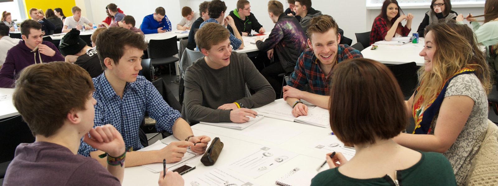 Students in a design workshop