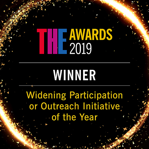 THE AWARDS 2019 Widening Participation or Outreach Initiative category