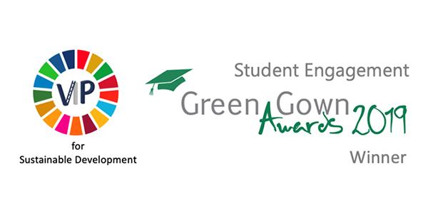 VIP for Sustainable Development: Green Gown Awards 2019 - Student Engagement Winner