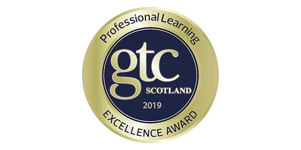 Excellence in professional learning award logo