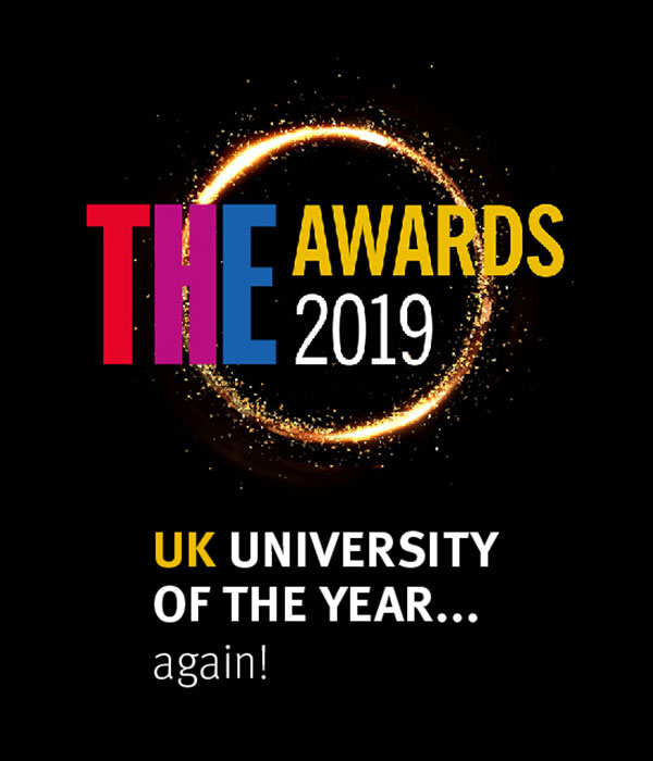 THE Awards 2019: UK University of the Year... again!